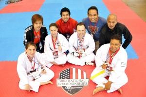 Flying V Martial Arts Parents_2013 National Taekwondo Championships