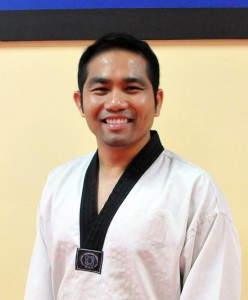 Master Vinson Villena from Flying V Martial Arts
